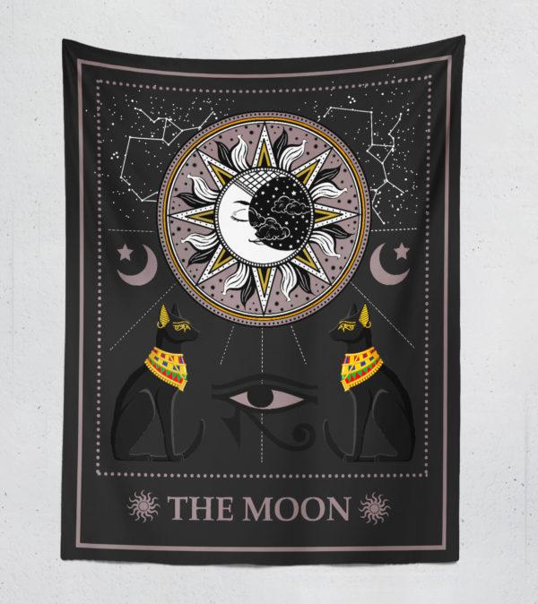The Moon Duvar Örtüsü