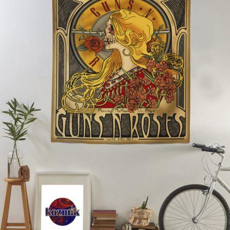 gun n' roses duvar örtüsü