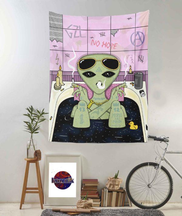 Alien duvar örtüsü