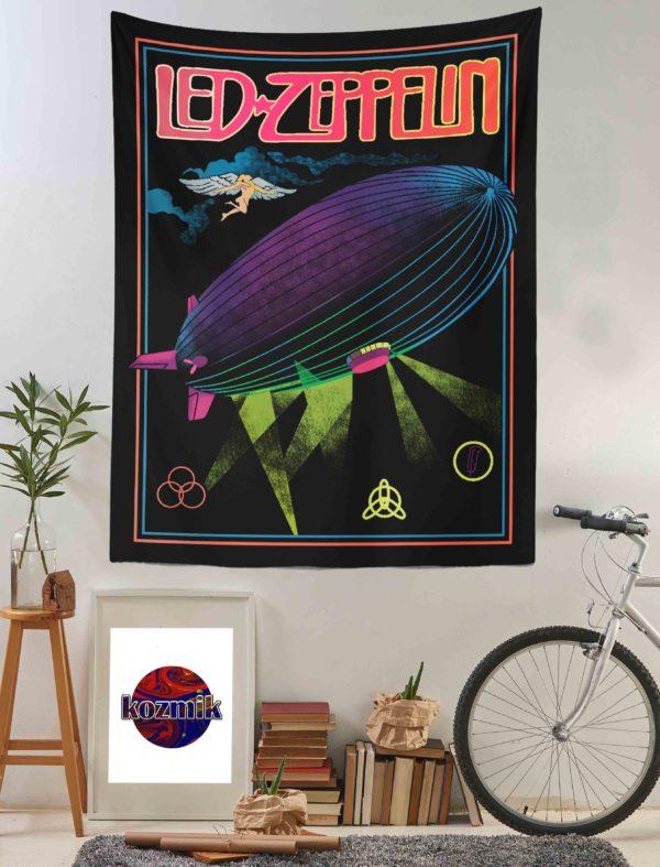 Led Zeppelin Duvar Örtüsü