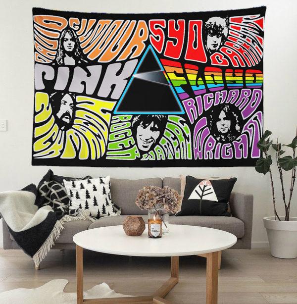 Pink Floyd Duvar Örtüsü