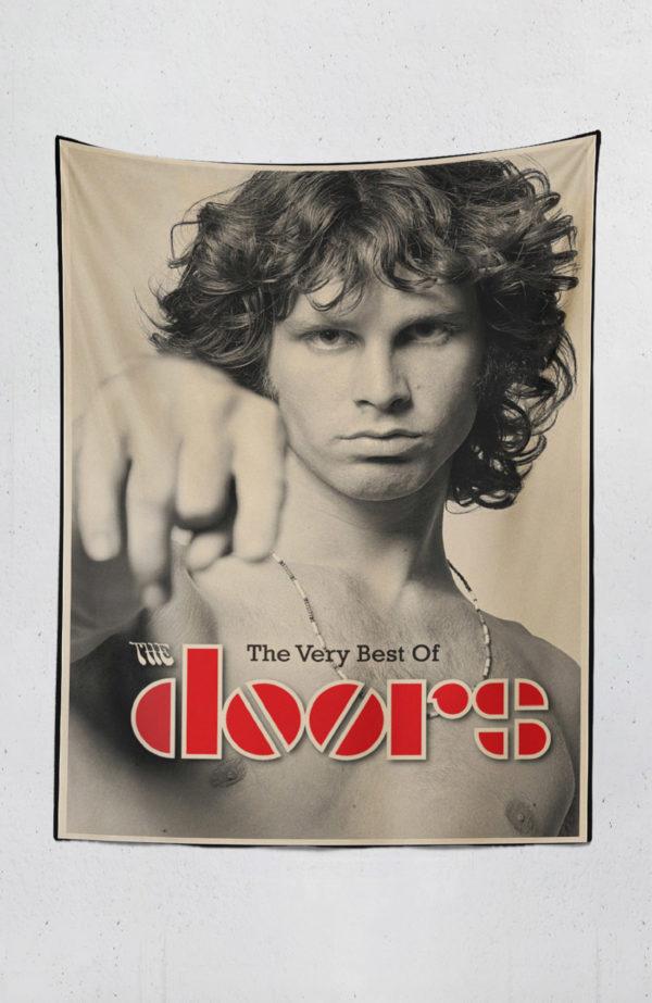The Doors - Jim Morrison Duvar Örtüsü