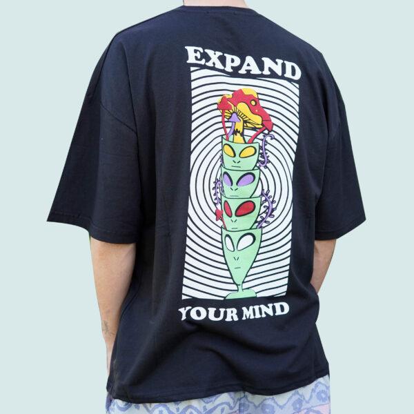 psychedelic tişört